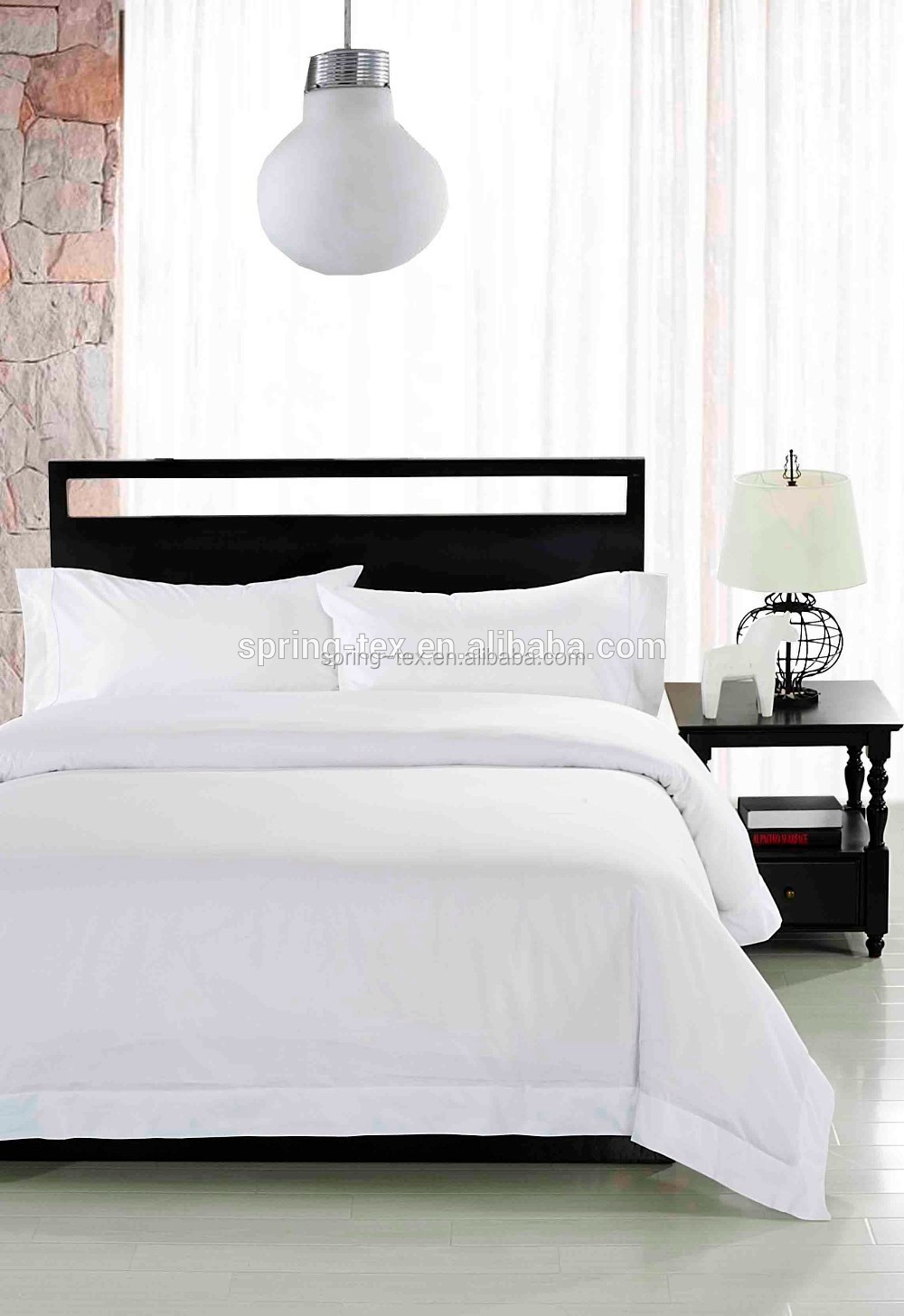 Oeko Tex Certified Factory 100 Cotton 600tc White Hotel