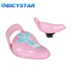 New design comfortable child bike seat hot sell cheap pink bike saddle for kids girl cycle saddle with push bar