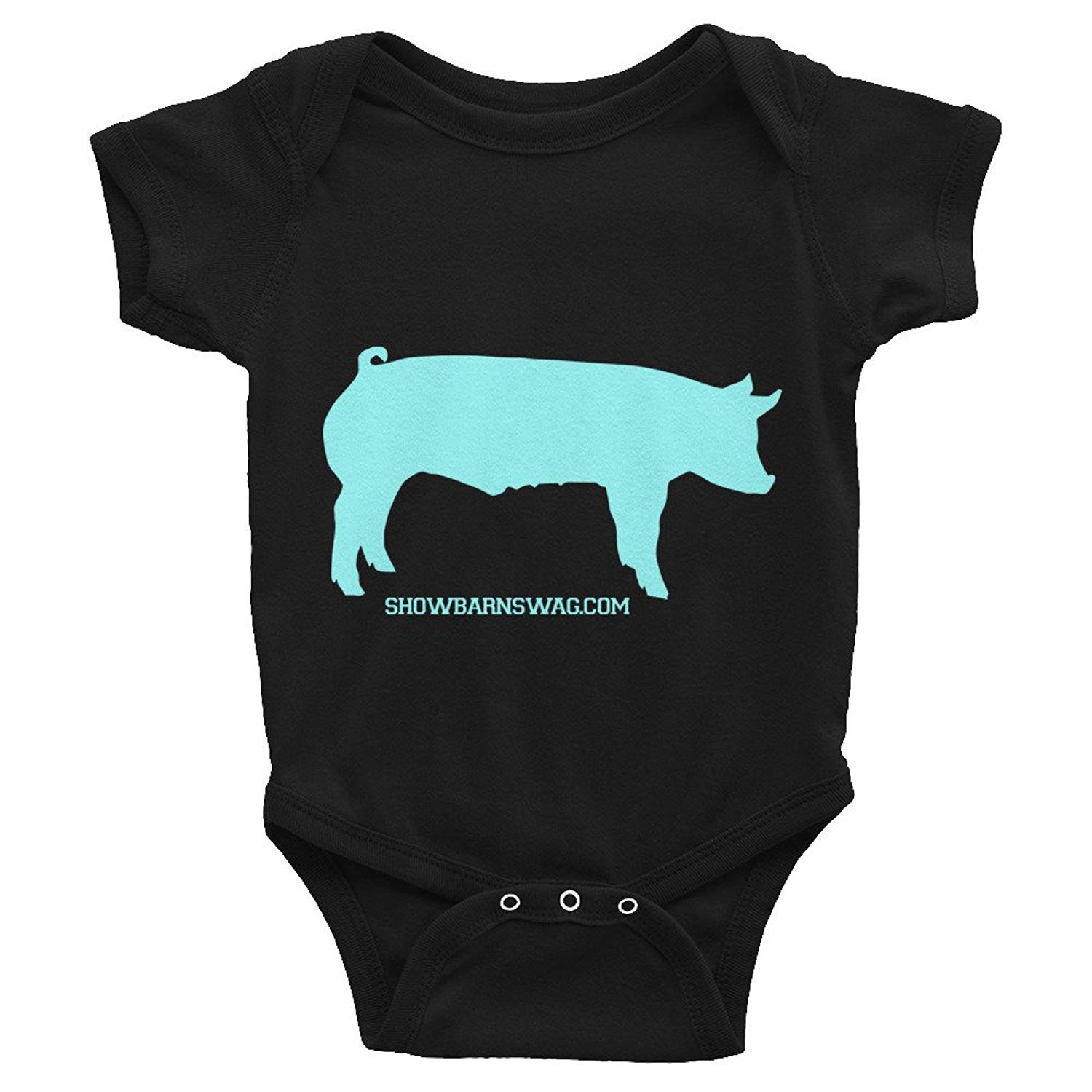 Mri-le1 Baby Boy Girl Organic Coverall I Like Pig Butts and I Cannot Lie Infant Long Sleeve Romper Jumpsuit