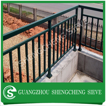 Metal Balcony Rail For Hotelglass Balustrade Railing Designs In
