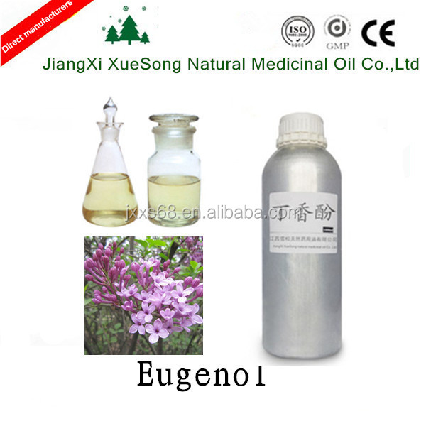 99% Eugenol used for oral care product have good analgesic effect for tooth