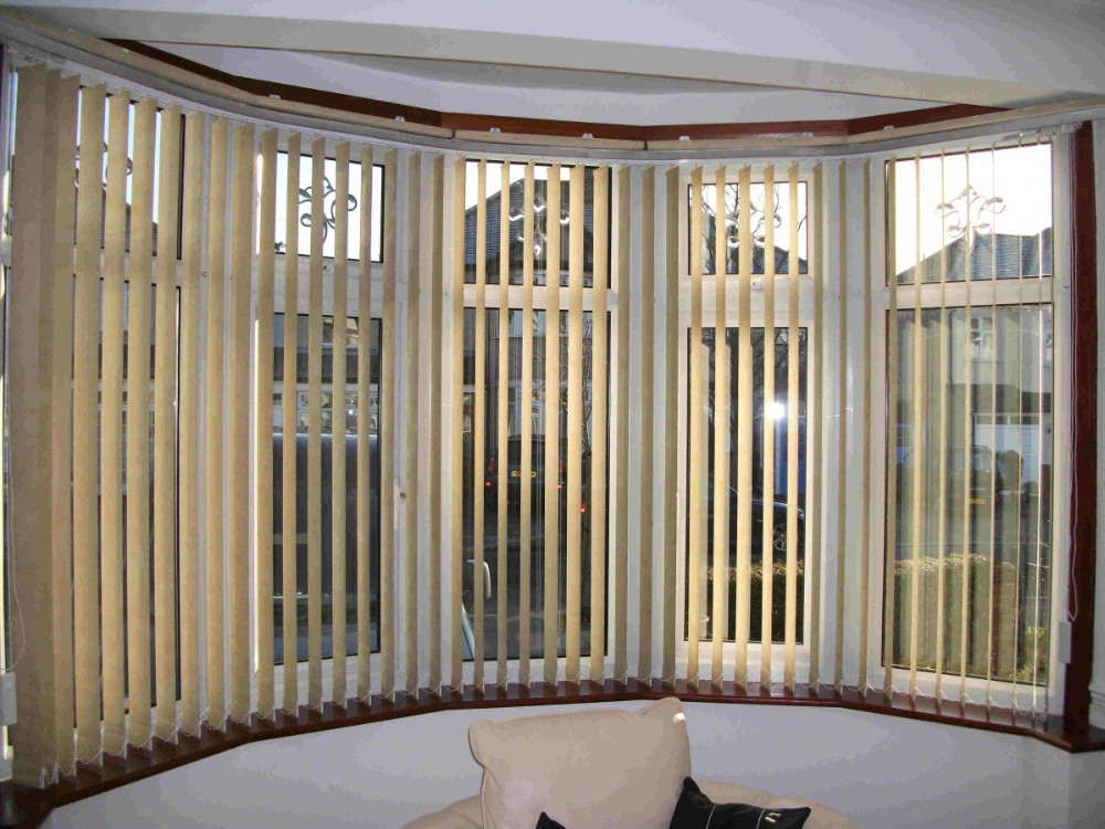 Australian project hot sale curved bay window blinds buy for Curved bay window