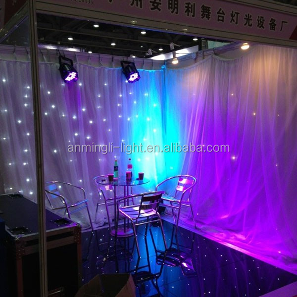 Wedding Backdrop Curtains / Wedding Wall Led Curtains / Led Wall Covering  Curtain
