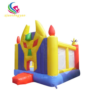 2018 New Arrival cheap inflatable bouncers for sale castle slide combo obstacle