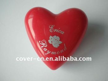 Newest promotional gifts, Heart shaped LED Badge with Pin