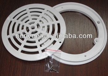 Swimming Pool Round Main Drain Plastic Pool Drain Grate