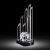 Large Column Shape Crystal Baseball Award Trophy
