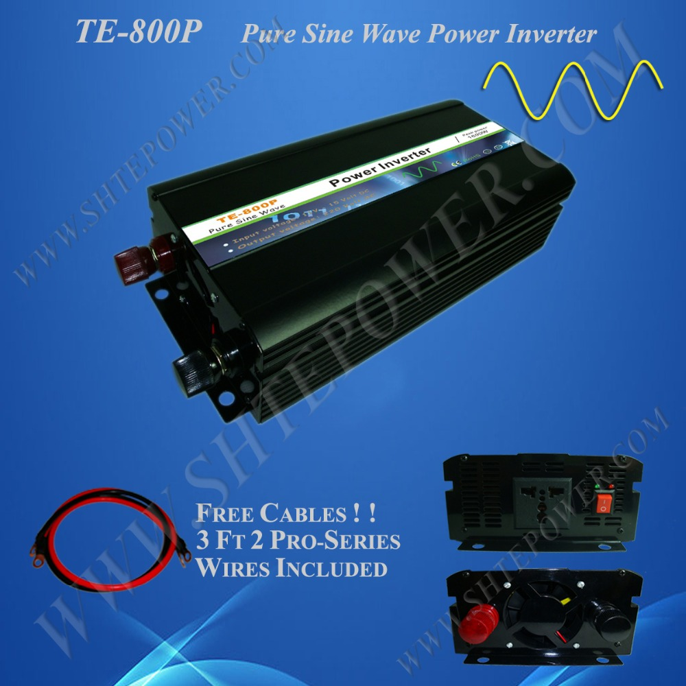 Strong adaptability and stability 800w pure sine wave 230v dc to ac power inverter