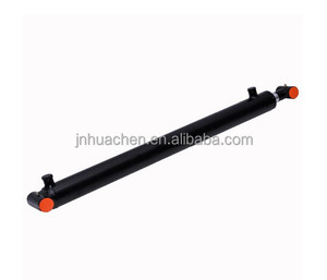 "Double Acting Welded Hydraulic Cylinder 4"" Bore 6"" Stroke Cross Tube End"