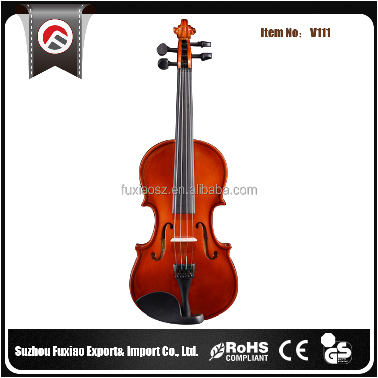 Sale Low Price Whitewood Chinrest Electric Violin