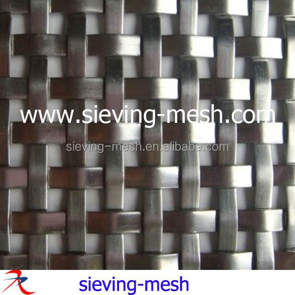 Stainless Steel Woven Wire Architectural Mesh Cladding,Metal Mesh ...