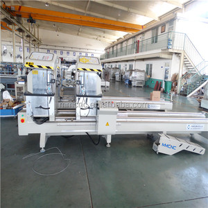 Twin head aluminum profile cutting-off saw machines