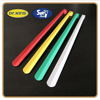 Colorful painting long handle stainless steel metal shoe horns sale