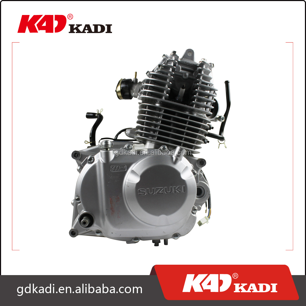 Genuine 4 stroke motorcycle engine stroke and cold air-cooled style