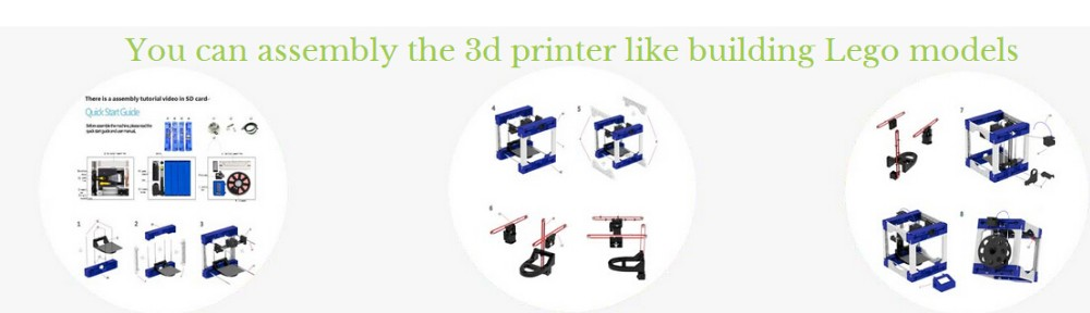 Manufacture low price Desktop large FDM 3D printer