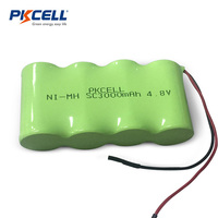 Wholesale industrial ni-mh sc3000mah battery nimh 4.8v sc 3000mah rechargeable toy car battery pack