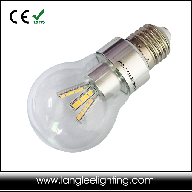 E27 9W inflatable snow globe lamp Dimmable AC85-265V