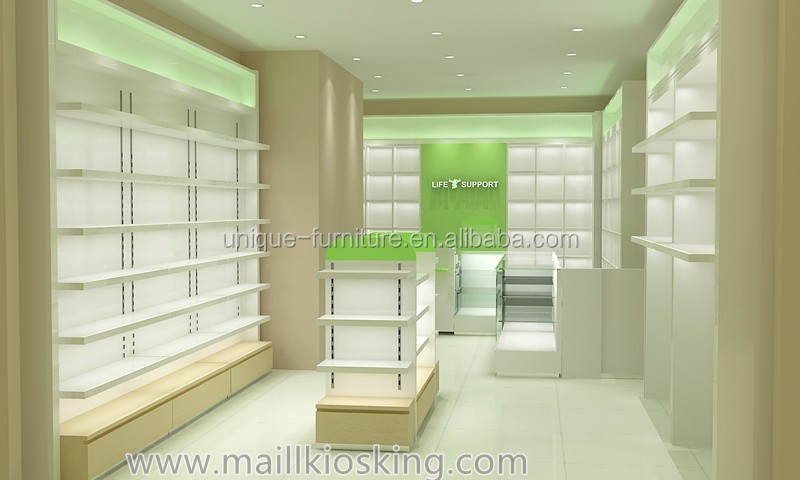 Furniture Showcase Interior Design Easley Sc ~ Retail medical store furniture counter
