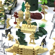 Custom make your own plastic soldier army man toy, small soldier military figures toys wholesale, oem military toys figurines