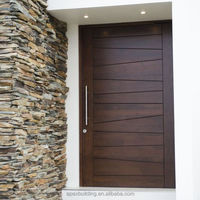 mahogany solid wood door entrance door