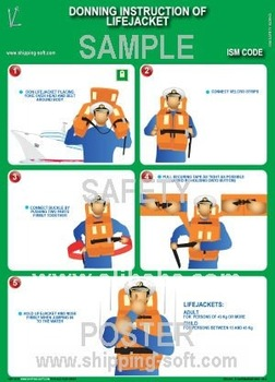Donning Instruction Of Lifejacket Buy Shipboard Safety