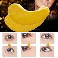 24K Gold Collagen Gel under Eye Mask Pad Anti Aging Wrinkles