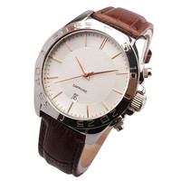 Copper dial custom design men's fashion watch
