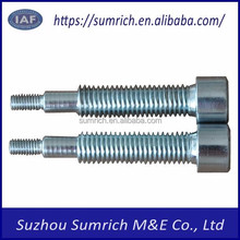 Customized high precision OEM CNC round head internal hex grade thread bolts