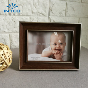 INTCO decorative tabletop cute glass photo baby picture frame