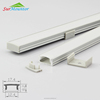 8x17mm white U-Shape Internal Width 12mm LED Aluminum Channel System with Cover, Caps and Clips Aluminum Profile LED Strip Light