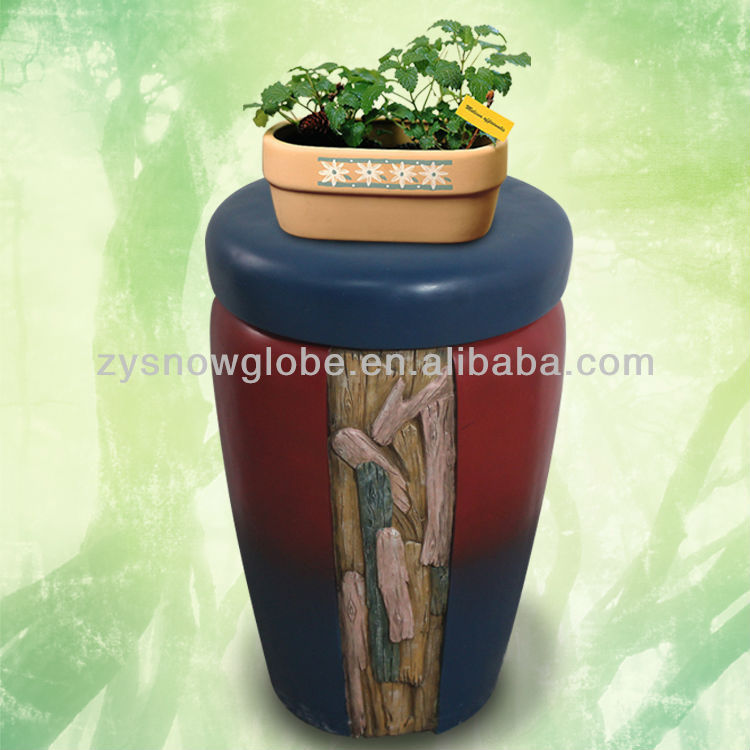 Artificial garden flower pot decoration