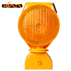 Solar LED Warning Yellow/Red Flashing Lights Traffic Barricade Lamp For Road Safety Cone Or Barrier