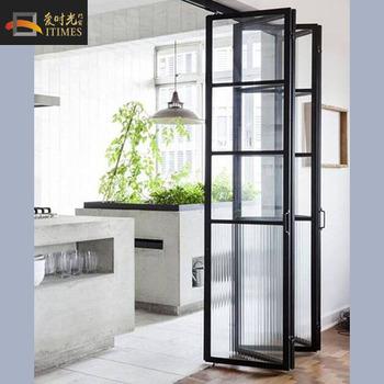 Grey Color Aluminium Accordion Kitchen Swing Doors Buy Commercial Kitchen Swing Doors Interior Kitchen Swing Half Doors Aluminum Patio Accordion Doors Product On Alibaba Com
