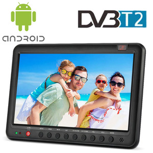 "10"" Portable TV with Freeview - Add a Small Screen Digital LCD Television to Your Car, Kitchen or Bedside Table"