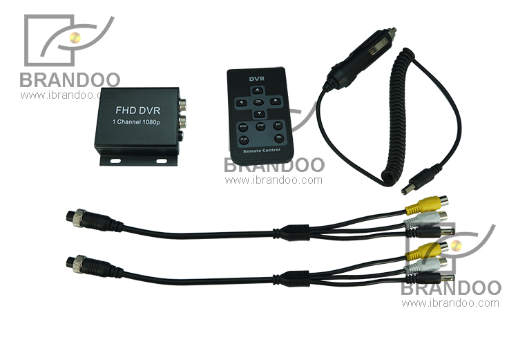 Mini 1CH 1080P Mobile DVR System, 2mp AHD Car camera recording 1080P video, used for taxi and Truck