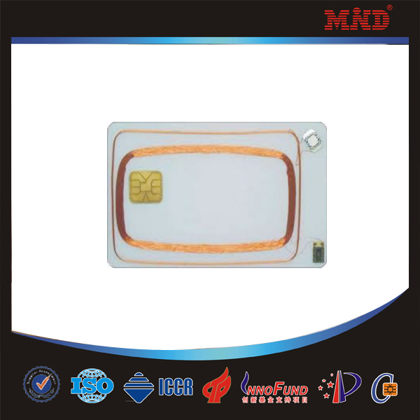 MDD15 Design best sell dual interface cpu cards smart card