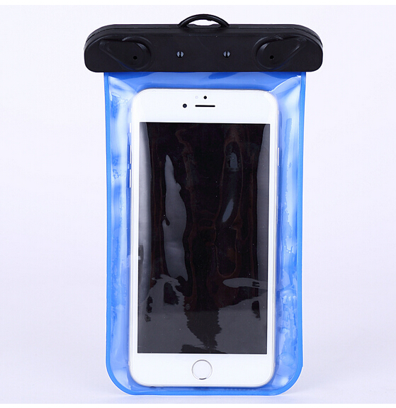 Custom size pvc cell waterproof phone bag for mobile phone