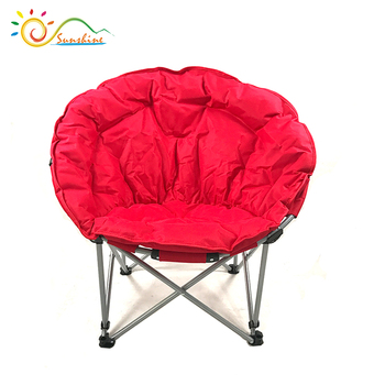 2018 New Folding Round Outdoor Half Moon Chair For Adults Or Children