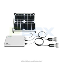 Home Solar System for indoor lighting PBOX P5 Solar Energy Station