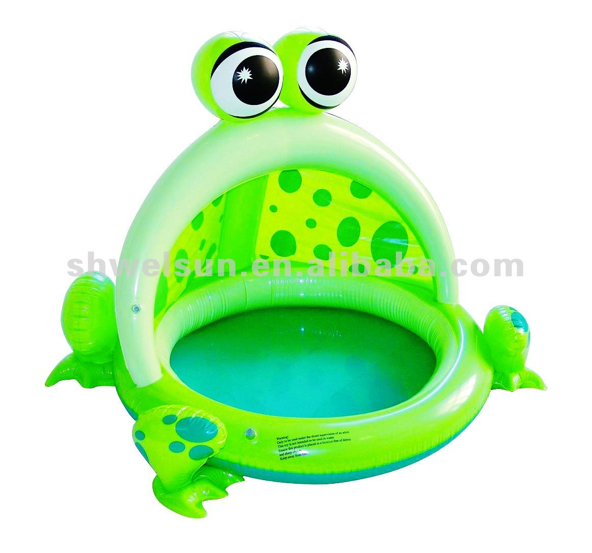 product detail inflatable pvc frog ball pit