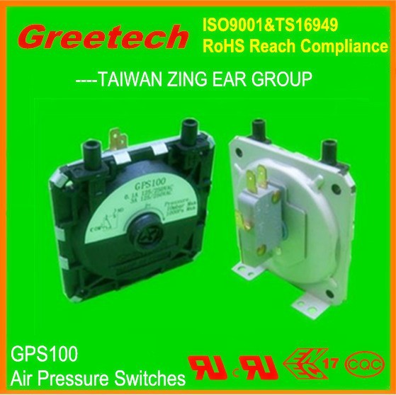 2015 CE approved air pressure switches for china gas stove,heat powered stove fan