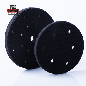 "6"" 10mm soft car sanding pad"
