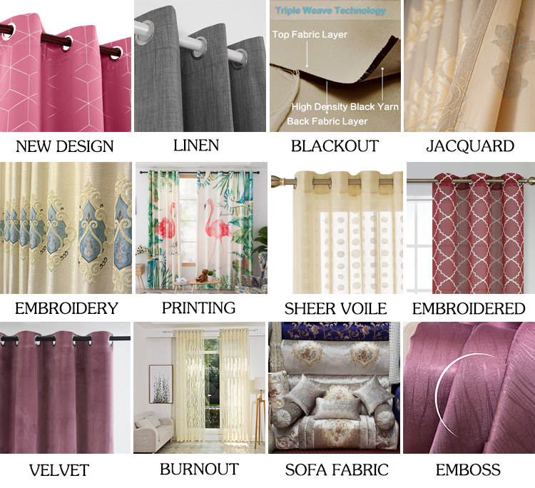Darkening Thermal Insulated  Grommet Panels Sliver Diamond Foil Printing  Curtains