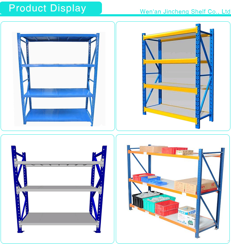 Assembled Warehouse Light Duty Storage Rack System with Diamond Hole or Butterfly Hole