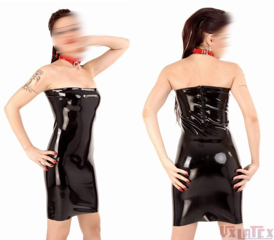 b572cbe2e7 Buy Summer dress 2015 Sexy black low-cut latex women dress club wear fetish  rubber vetidos party dresses plus size hot sale in Cheap Price on  m.alibaba.com