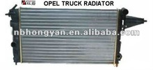 aluminum radiator with plastic tank for OPEL TRUCK