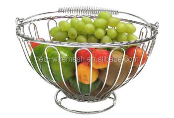 Hot Sale Useful Wardrobe Storage Baskets,Kitchen Basket,Stainless Steel  Hanging Fruit Basket - Buy Folding Wooden Fruit Basket,Fruit Basket With  Net ...