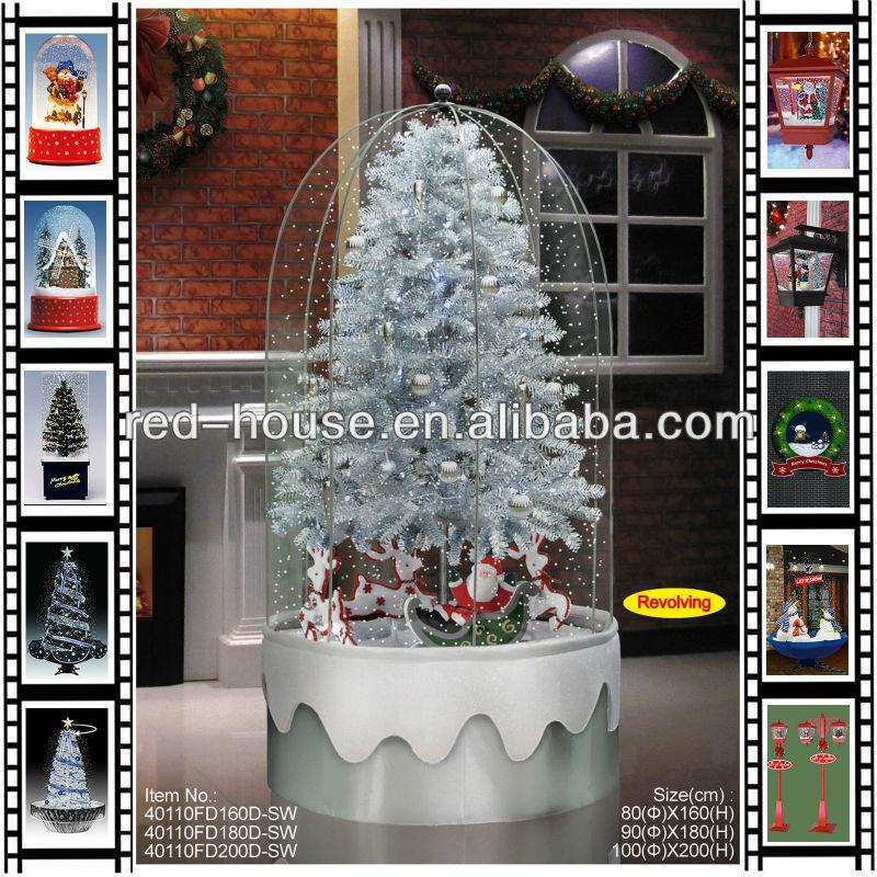 Com 7 5 Animated Tabletop Christmas Tree Box With