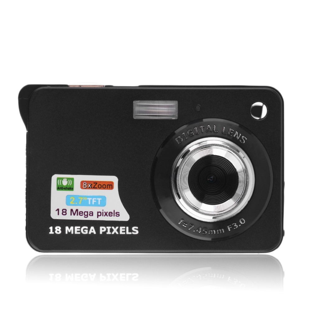 2.7'' TFT LCD HD 720P 18MP Digital Camcorder Camera 8x Zoom Anti-shake