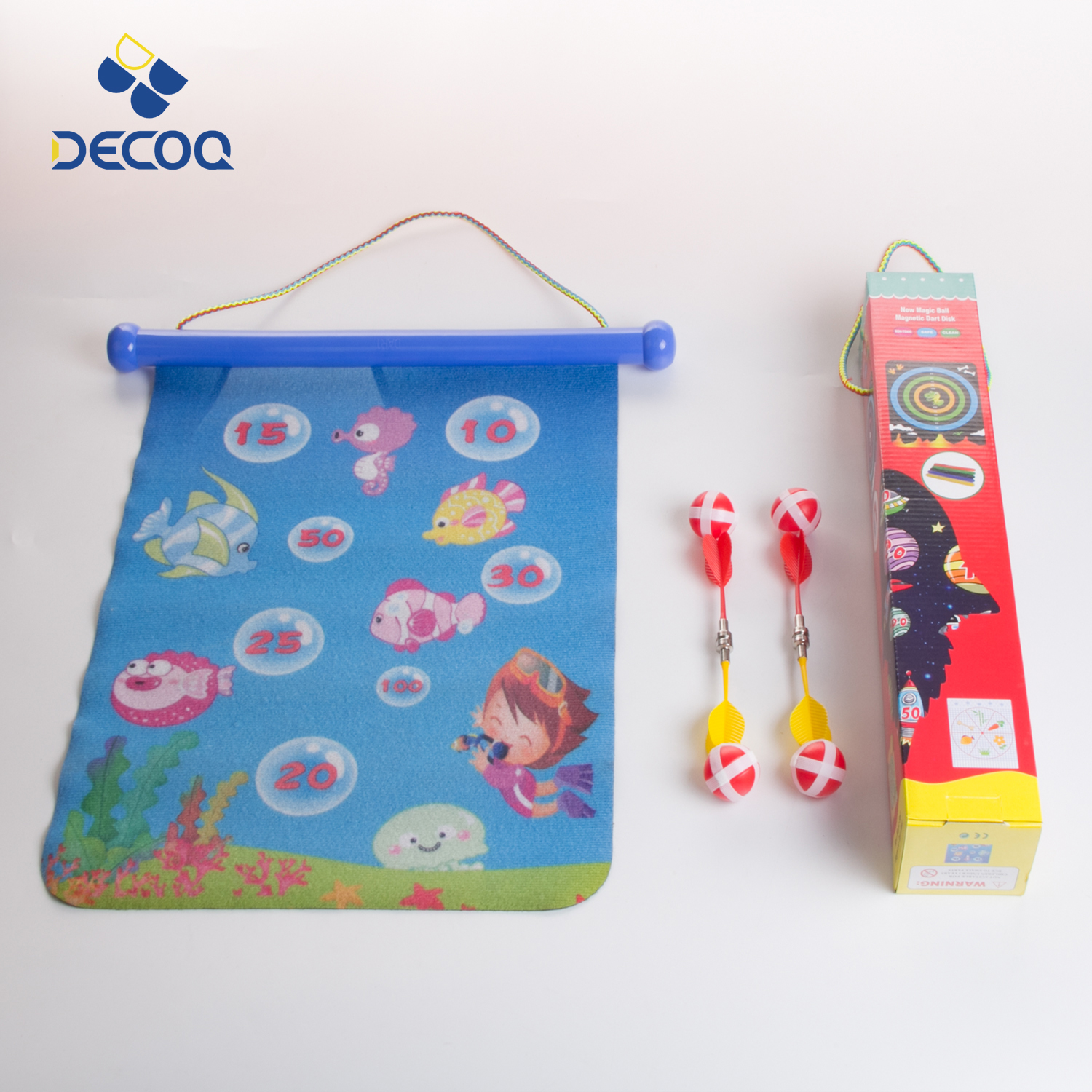 DECOQ Cheap Price Dart Board Game Set Wholesale With Magnetic Dart
